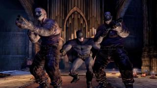 Batman Bonks Heads In Arkham City