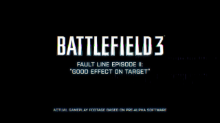 More Battlefield 3 Footage