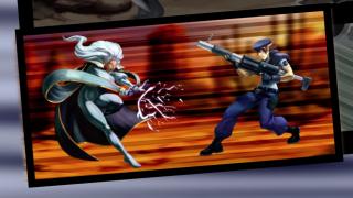 Marvel Vs. Capcom 2: Storm Takes On Jill Valentine