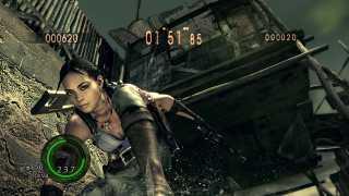 RE5 Mercenaries Mode: Sheva