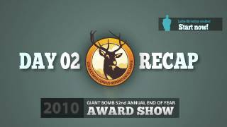Game of the Year 2010: Day 02 Recap