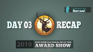 Game of the Year 2010: Day 03 Recap