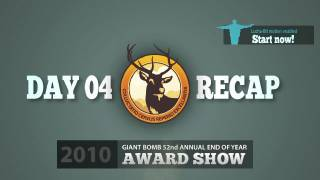 Game of the Year 2010: Day 04 Recap