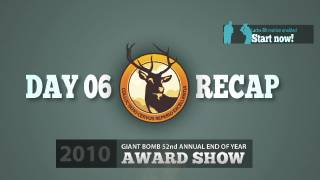 Game of the Year 2010: Day 06 Recap