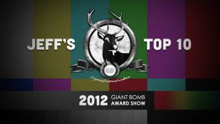 Game of the Year 2012: Jeff's Top 10