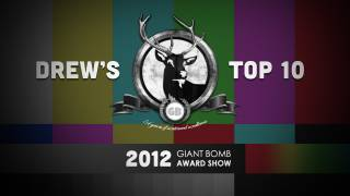 Game of the Year 2012: Drew's Top 10