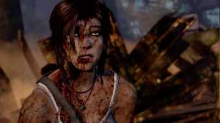 Here's Three and a Half Minutes of Mostly Terrible Things Happening to Lara Croft