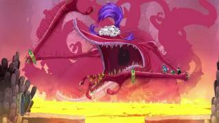 Rayman and Company Explore the World in Rayman: Origins