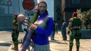 Fire Hypnotizing Octopi From Bazookas in Saints Row: The Third