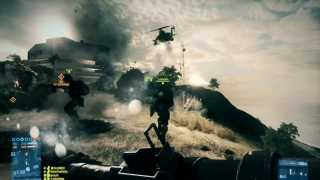 Helicopters Swarm Sharqi Peninsula in Battlefield 3