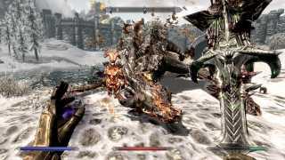 Backwards Dragons, Broken Resistances in Skyrim Patch