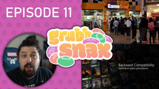 GrubbSnax Ep. 11: Gamestop Pre-Orders, Backwards Compatibility, and Jeff's Love of Salt