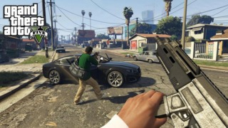 Grand Theft Auto V's Getting a First-Person Mode