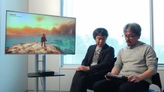 Zelda on Wii U Sports an Enormous Open World