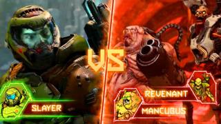 E3 2019: It's One Doomguy vs Two Demons in Doom Eternal's BattleMode