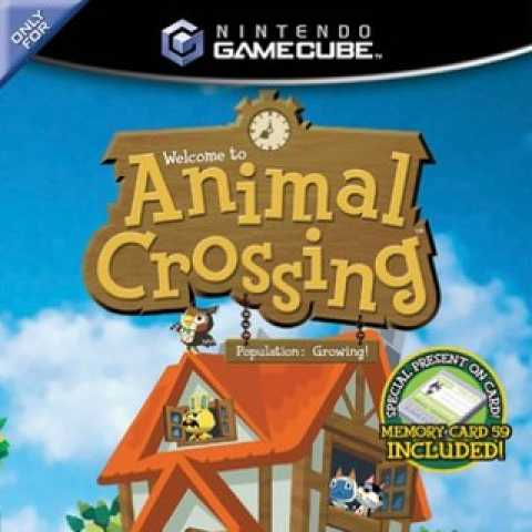 Animal Crossing Nintendo Gamecube cover-baixar rom