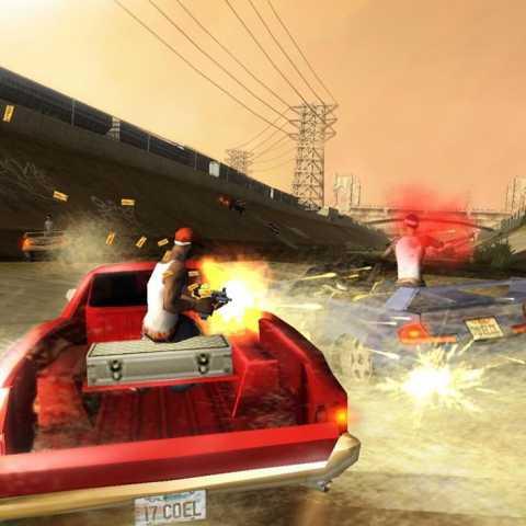 jogo ps2 carros com armas