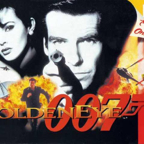 007 Goldeneye Nintendo64 cover