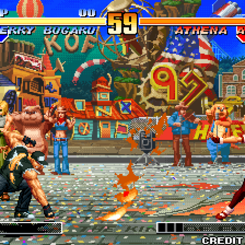 King Of Fighters '97 PS1 rom