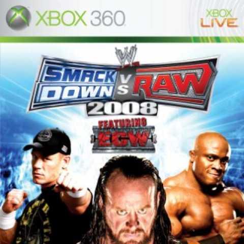 WWE SmackDown vs. Raw 2008 Xbox360 ISO
