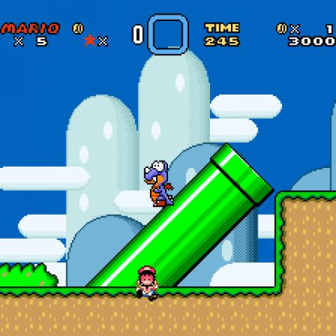 Super Mario World SNES/Download ROM-Ptbr