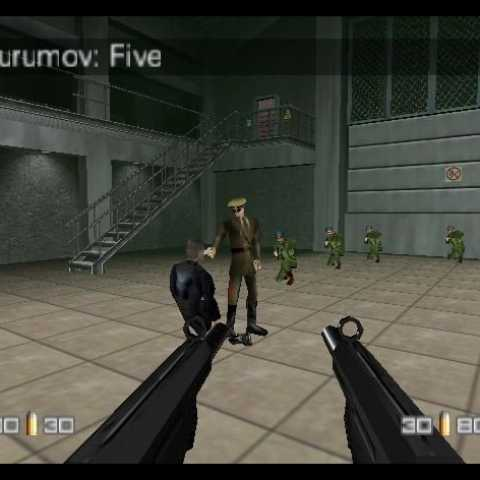 007 Goldeneye Nintendo64 rom