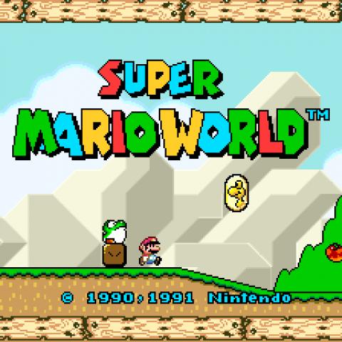 Super Mario World SNES/