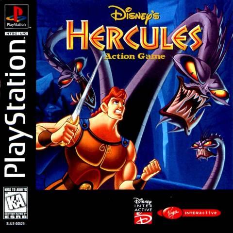 Disney s Hercules PS1 Gameplay