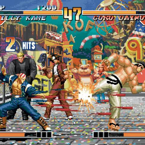 King of Fighters Collection Orochi Saga PS2,