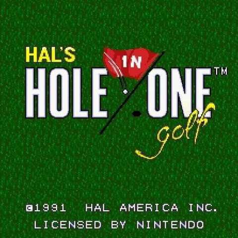golf snes / golf nintendo