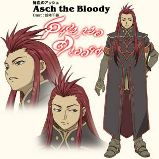 Asch as he appears in the anime