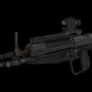 Halo: Reach DMR model