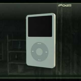 The iPod, as an item in MGS4.
