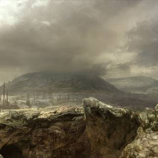 The Wasteland (concept art).