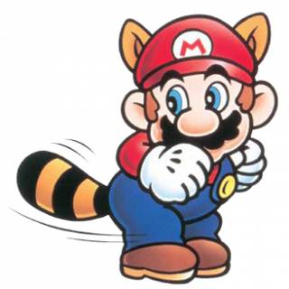 If Mario fucked a raccoon, that's what his offspring would look like.