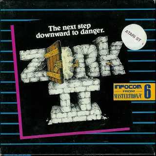 Zork 2 Atari ST box front