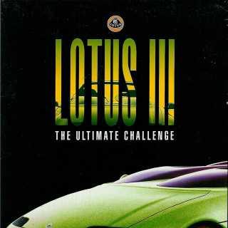 Lotus 3 Atari ST box front