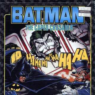 Batman: The Caped Crusader Atari ST Box front