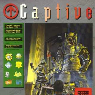 Captive Atari ST box front