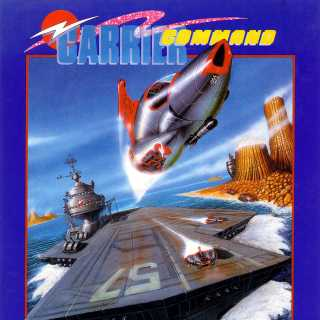 Carrier Command Atari ST box front