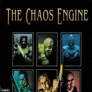 Atari ST Chaos Engine box front