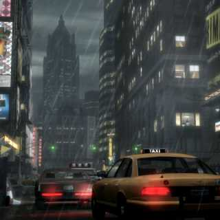 Grand Theft Auto IV's Liberty City