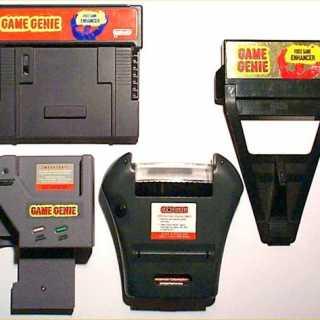 Game Genies for several platforms.