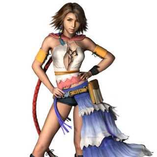 FFX- Yuna in game shot
