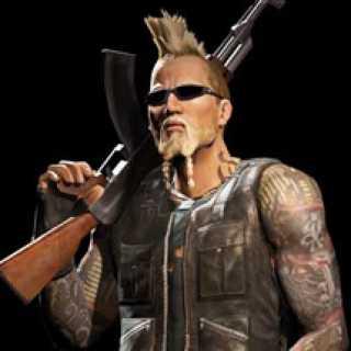 Mattias Nilsson, character art from Mercenaries 2: World in Flames