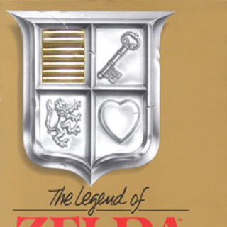The Legend of Zelda, box art (NES)