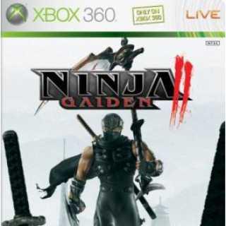 Ninja Gaiden II (360) North American box art