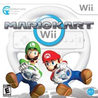 Mario Kart Wii, North American box art