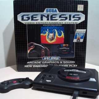Sega Genesis, original North American release