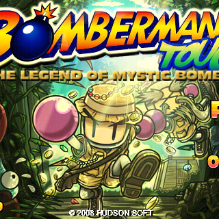 Bomberman Touch: The Legend of Mystic Bomb